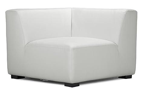 ZUO Portrait Sofa Corner, White