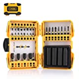 Impact Driver Bit Set, Utool 33 pcs Ultratorq Impact Screwdriver Bits and Socket Set including 25 Screwdriver Bits, 4 Impact Sockets, 3 Magnetic Nut D