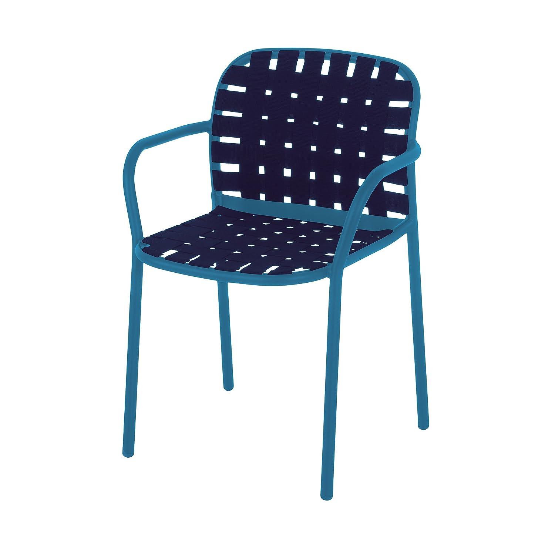 Yard Armlehnstuhl – blau kaufen
