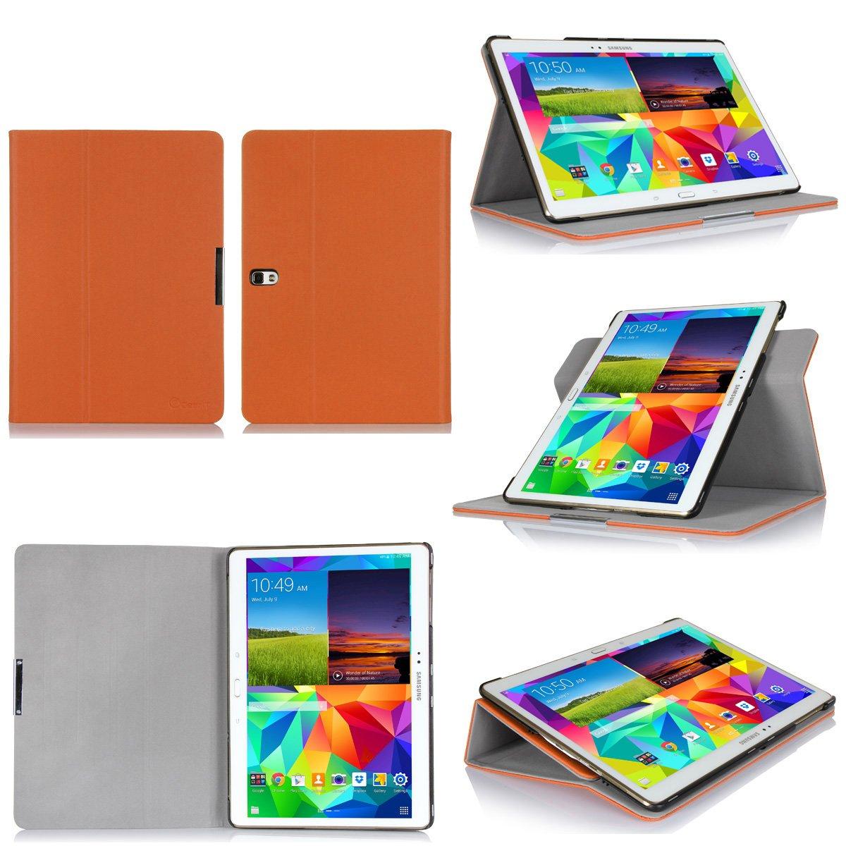 GearIt Samsung Galaxy Tab S 10.5 10,5 caso carcasas cubierta funda folio de piel  Electrónica Más información y revisión del cliente