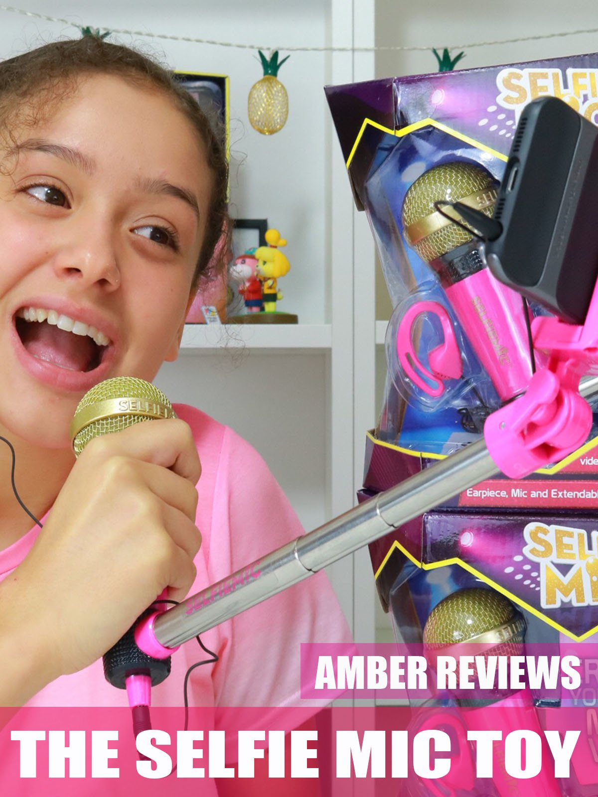 Amber Reviews The Selfie Mic Toy