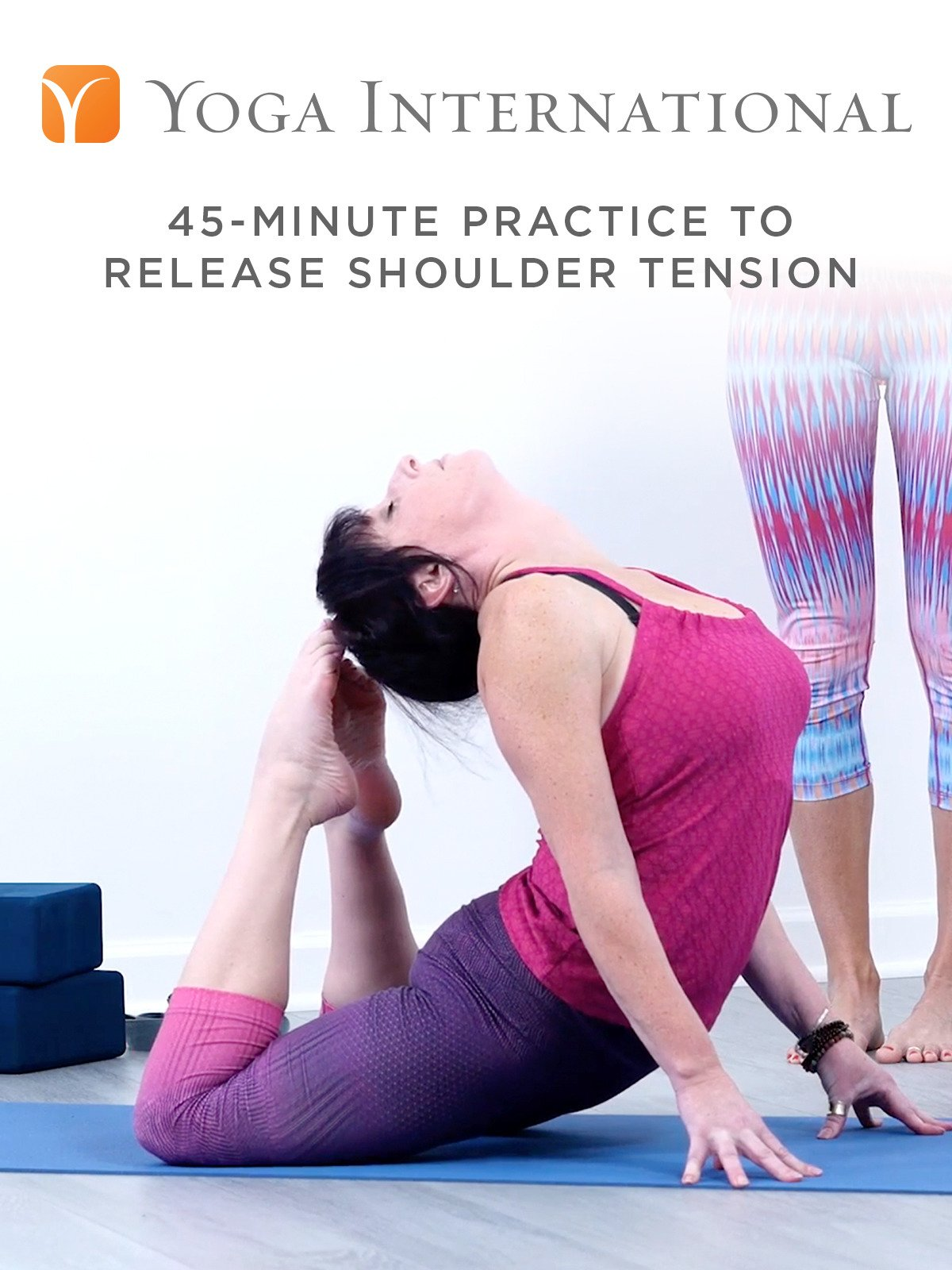 45-Minute Practice to Release Shoulder Tension on Amazon Prime Instant Video UK