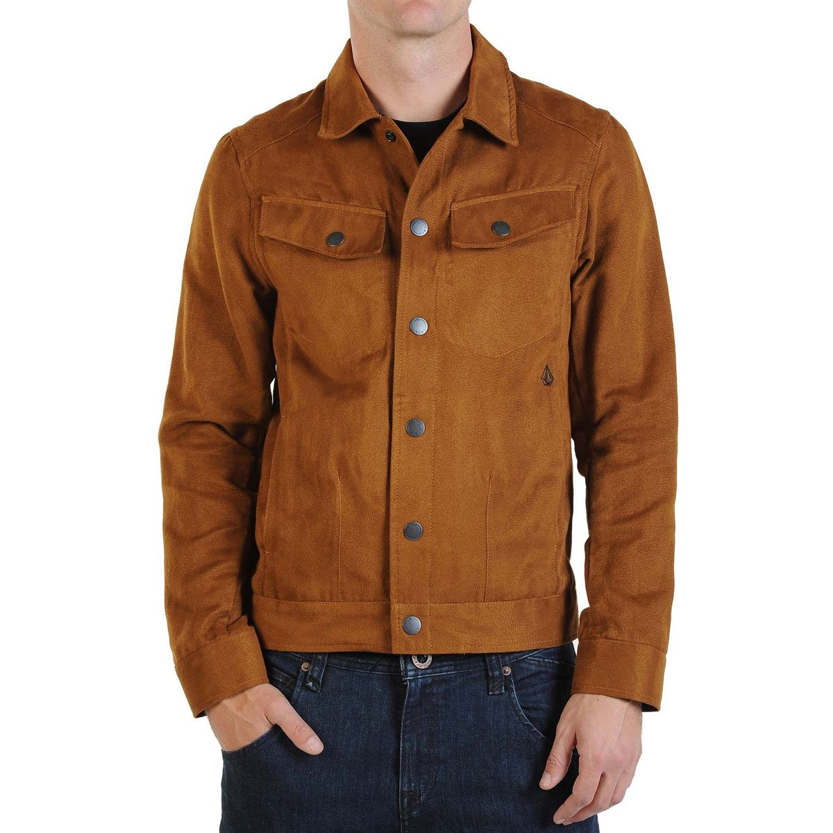 Volcom Squiggy Suede Jacket - Men's