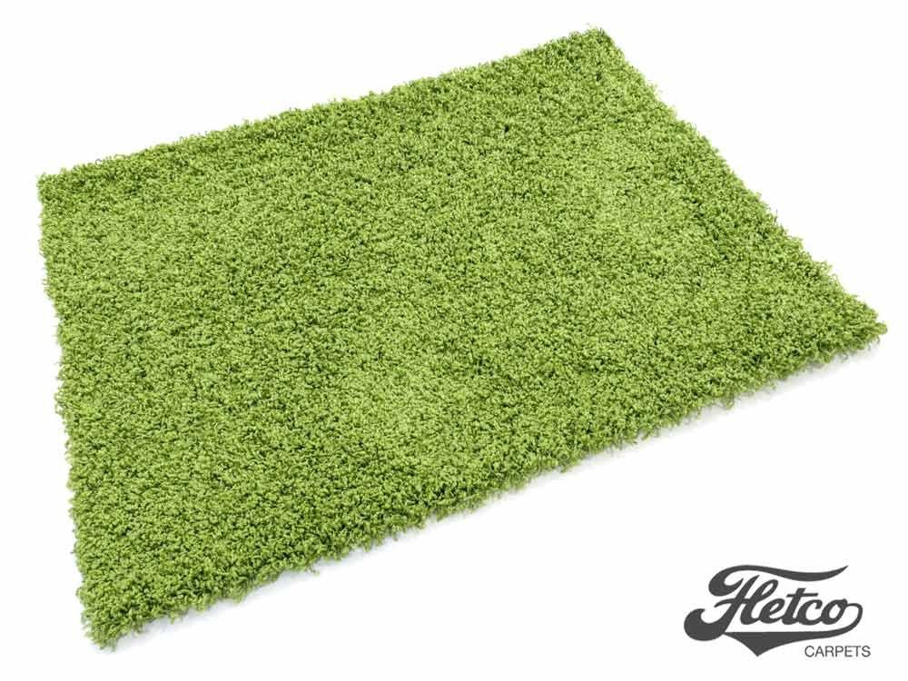 Puschel grün Hochflor Shag Teppich 200x250 cm  Kritiken und weitere Informationen