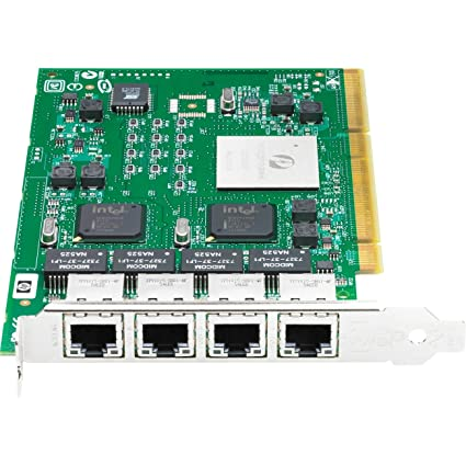 HP NC340T PCI-X Quad-port Gigabit Server Adapter Adaptateur réseau PCI-X EN, Fast EN, Gigabit EN 10Base-T, 100Base-TX, 1000Base-T 4 ports