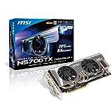 MSI N570GTX TWIN FROZR II NVIDIA GeForce GTX 570 1280MB GDDR5 2DVI/Mini HDMI PCI-Express Video Card N570GTX TWIN FROZR II