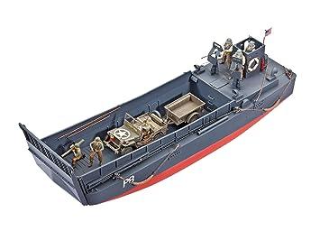 Revell - 3000 - Maquette Militaire - Canot de Débarquement et Jeep