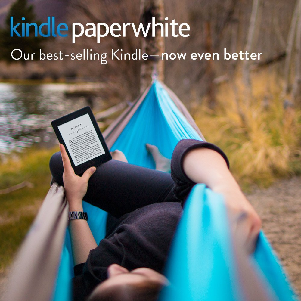 "Kindle Paperwhite 3G E-reader, 6"" High-Resolution Display (300 ppi) with Built-in Light, Free 3G + Wi-Fi - Includes Special Offers"