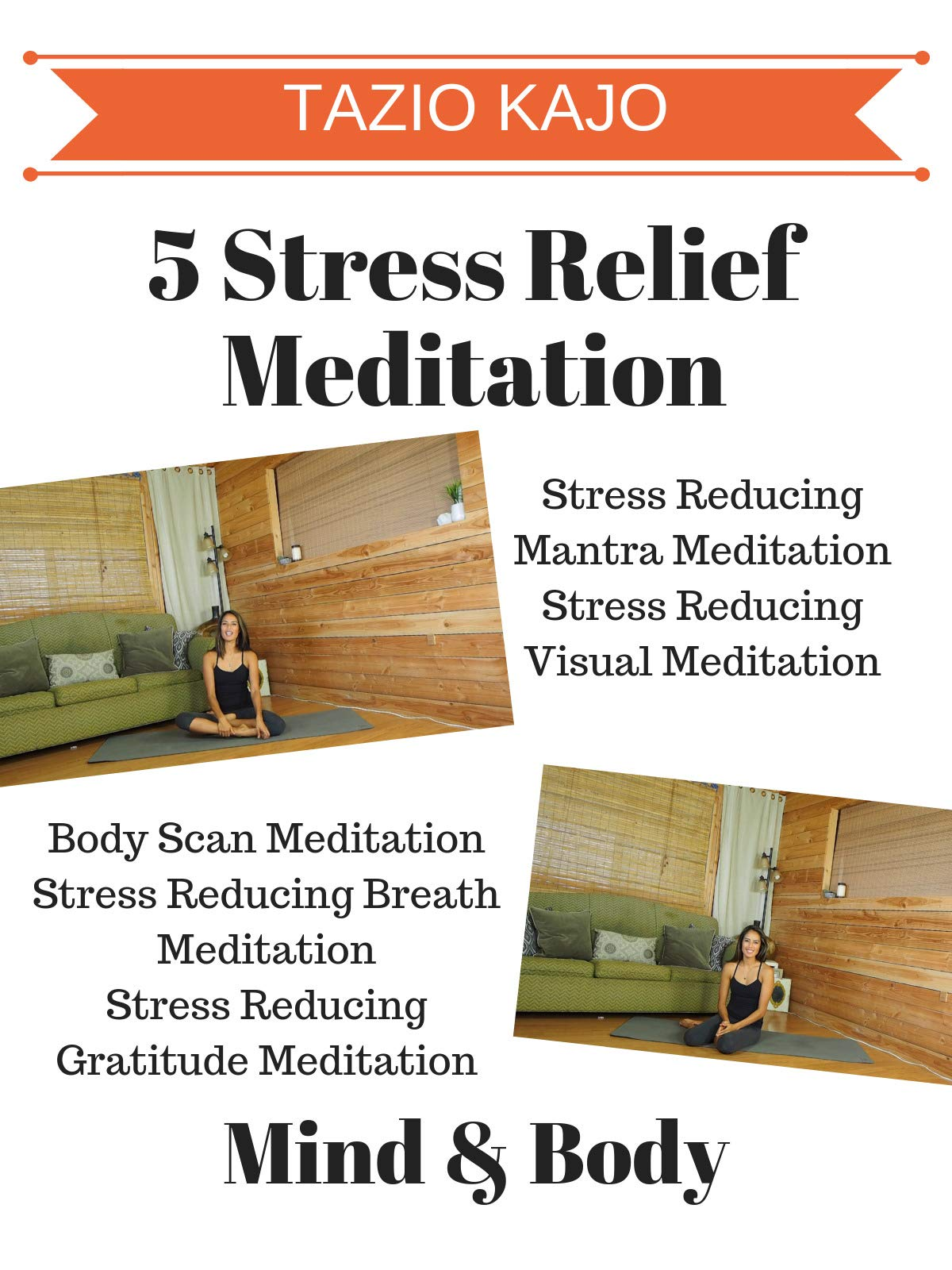 5 Stress Relief Meditations