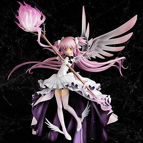 Anime Puella Magi Madoka Magica Kaname Madoka Ultimate State PVC Action Figures Collection Model Toys Doll 33cm