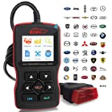 OBDScar OS601 EOBD OBD2 Scanner Automotive Engine Fault Code Reader CAN Diagnostic Scan Tool (2018 Model) (Color: Red&Black, Tamaño: OS601)