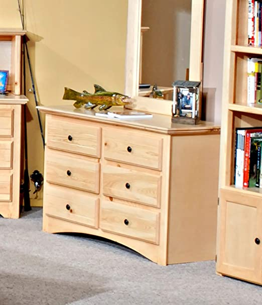 Chelsea Home Furniture 3524470 Dresser with 6 Drawer