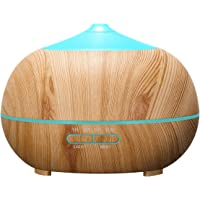 Tenswall 400ml Ultrasonic Aromatherapy Essential Oil Diffuser