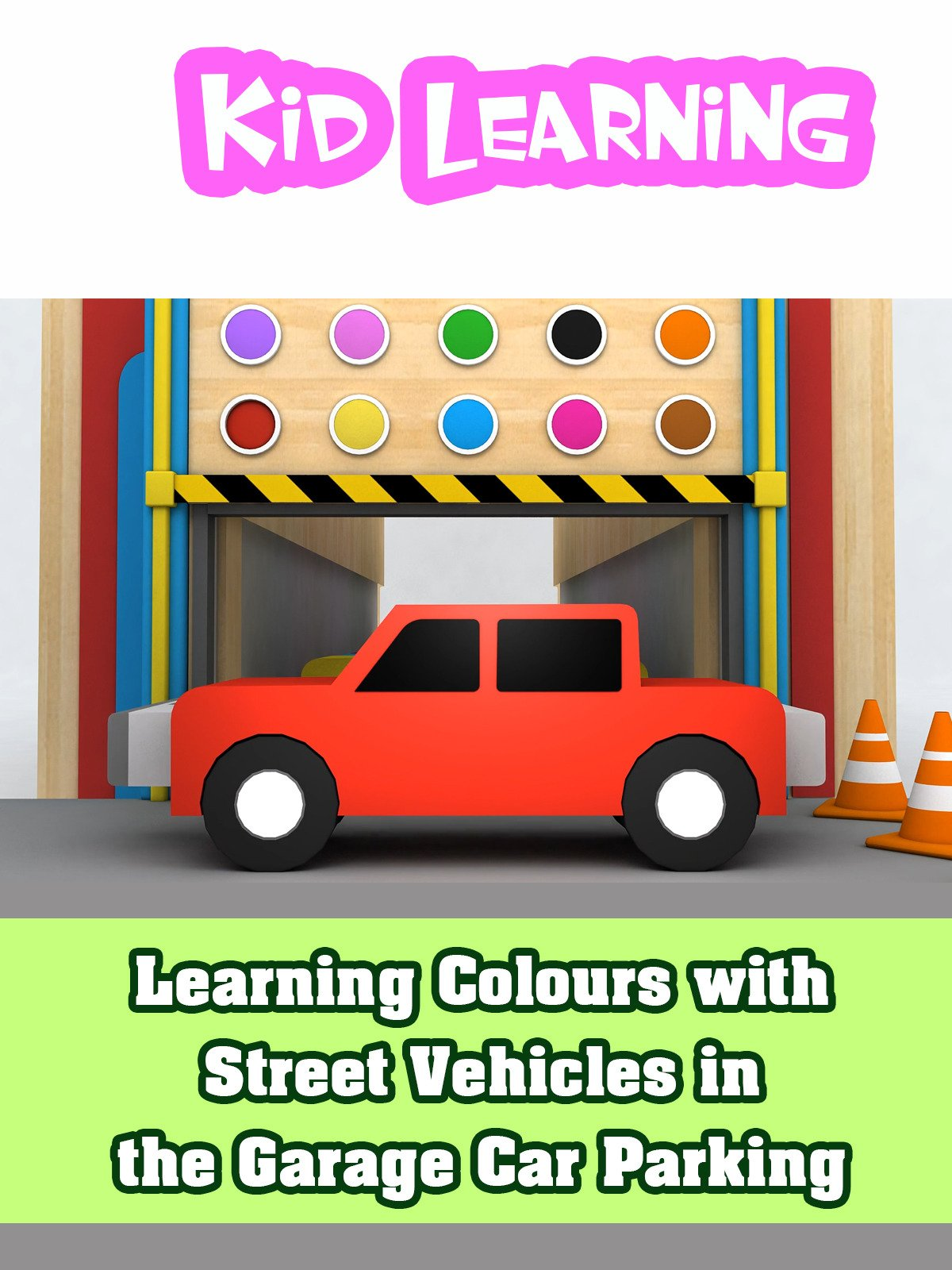Learning Colours with Street Vehicles in the Garage Car Parking on Amazon Prime Video UK