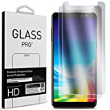 Galaxy A8 Screen Protector, CoverON 2 Piece Premium Slim Fit Tempered Glass Screen Protectors for Samsung Galaxy A8 2018 - HD Clear