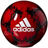 adidas Glider 2 Soccer Ball, Power Red/Black/White, Size 5 (Color: Power Red/Black/White, Tamaño: 5)