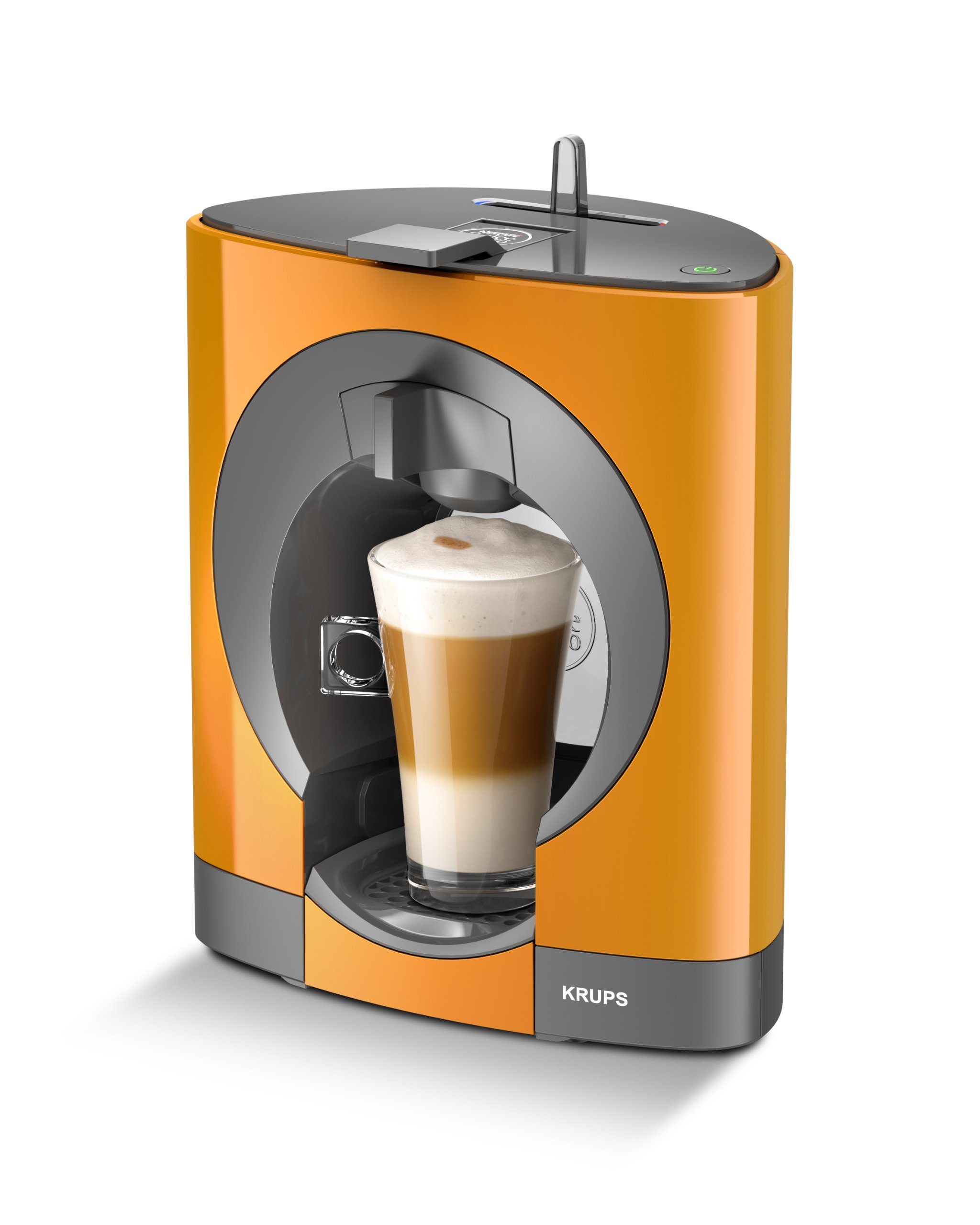 nescafe dolce gusto oblo coffee capsule machine by krups orange ebay. Black Bedroom Furniture Sets. Home Design Ideas