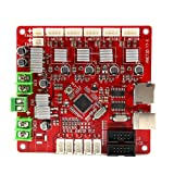 Anet A8 Mainboard, V1.5 Original A8 Motherboard Replacement for Anet A8 3D Printer (Color: red, Tamaño: A8)