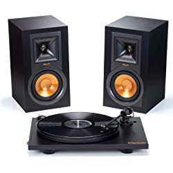 Klipsch R-15PM Stereo Speakers & Pro-Ject Primary Turntable + $150 Dell eGift Card