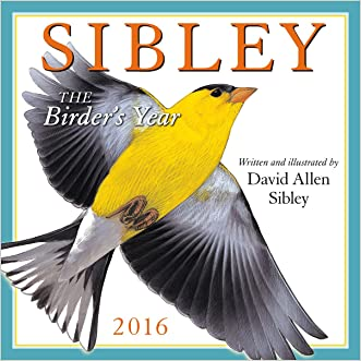 Sibley: The Birder's Year 2016 Wall Calendar