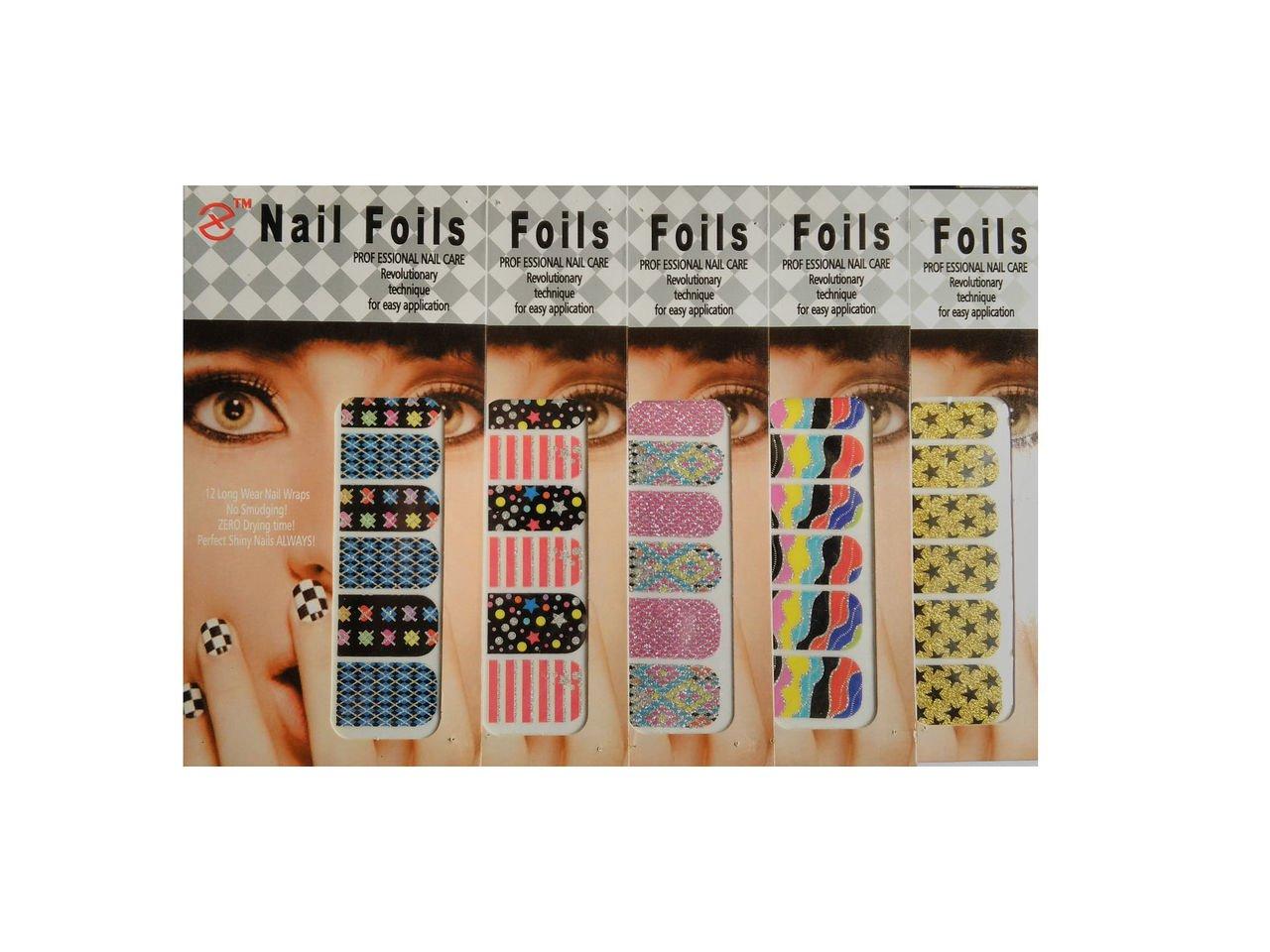 Jayhari Premium Quality Sticker Nail Foil,