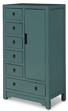 Holly Green 6 Drawer -Chest
