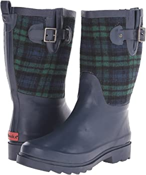 Chooka Euro Plaid Mid Womens Boots
