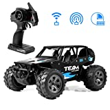 Lambow Rc Cars for Kids 2.4Ghz 1/18 Crawlers Off Road Vehicle Toy Remote Control Car Gift for Boys Girls Age of 3, 4, 5, 6, 7, 8-16 Year Old
