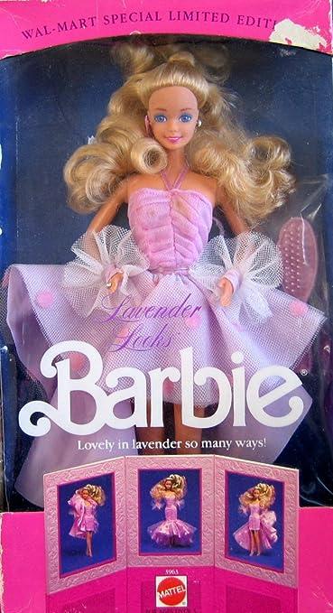 1989 Barbie - Lavender Looks (Look Lavande) - Wal-Mart Special Edition Limitée - Poupée blonde #3963