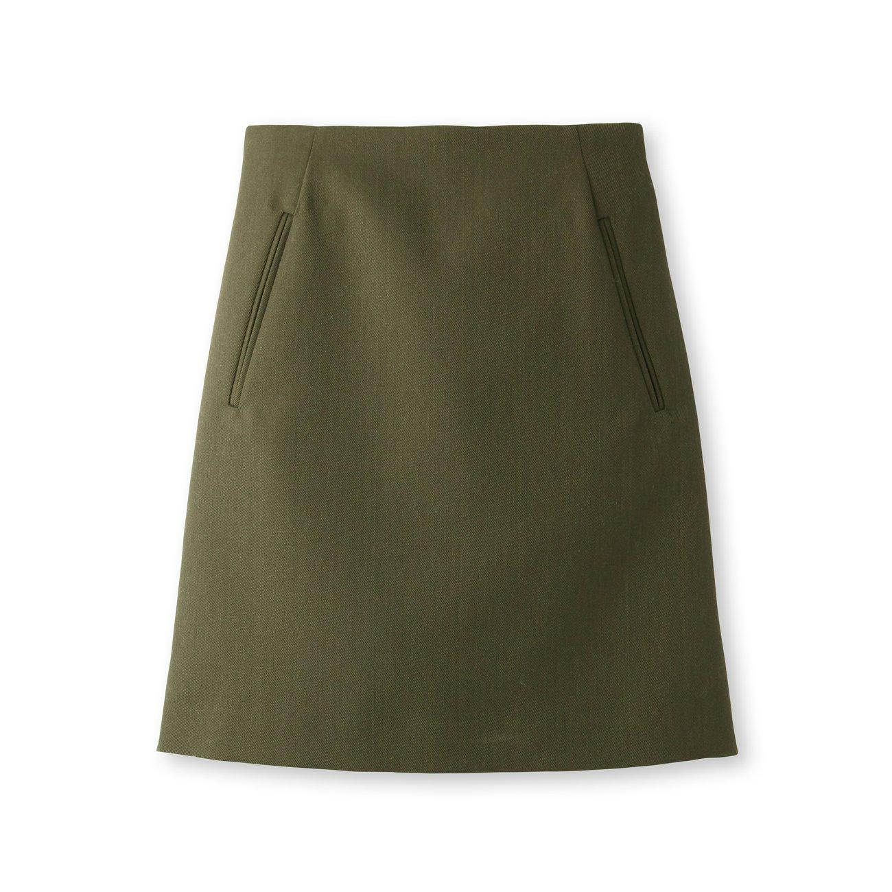 (ドレステリア)DRESSTERIOR ミリタリーサージスカート : 服&ファッション小物通販 | Amazon.co.jp