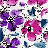 Hydrographic Film-Hydro Dipping-Flower Hydro dip 1M Length for DIY 13 Designs for Choosing (087) (Color: 087)