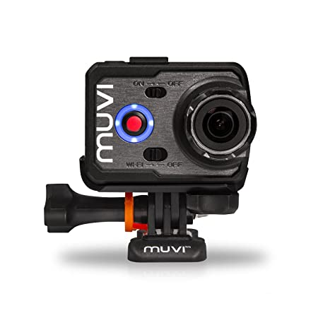 Veho Muvi K-Series K2 Caméra d'action Embarquée 16 Mpix HDMI/Wi-Fi/USB/SD Noir + Etui étanche