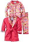 Baby Bunz Baby-girls Infant LG Cu Pieceake Robe and Pajama Set