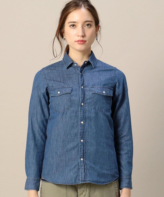 Amazon.co.jp: (ビューティーアンドユースユナイテッドアローズ) BEAUTY&YOUTH UNITED ARROWS BY 4.5OZ ダンガリーレギュラーカラーシャツ: 服&ファッション小物