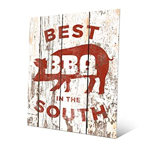 Best BBQ in the South print