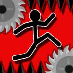 DUMB STICKMAN 3 : Kill Him Dash (a run to die doodle game)