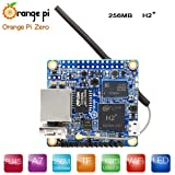 MakerFocus Orange Pi Zero H2 Quad Core Open-Source 256MB Development Board with WiFi Antenna (Color: Orange Pi Zero 256MB RAM)