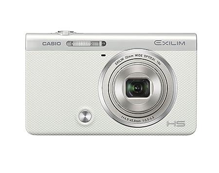 CASIO digital camera EXILIM EX-ZR60WE self-portrait tilt LCD auto transfer featured EXZR60 White