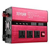 Electrical Equipment & Supplies - Power Inverter - DC12 to AC 220V 8000W Peak Solar Power Inverter LED AC Sine Wave Converter - (Voltage: DC12V) (Tamaño: DC12V)