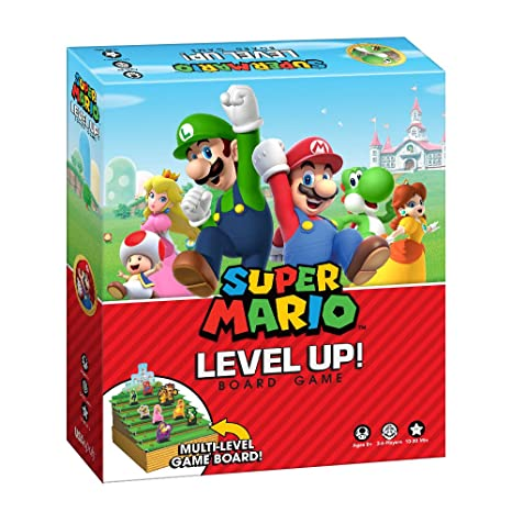 Super Mario Boardgame Level Up USAopoly Giochi Tavolo Accessori