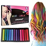 Hair Chalk,Hair Chalk Pens,Temporary Hair Chalk-Washable Hair Color Safe For Kids And Teen - For Party,Girls Gift,Kids Toy,Birthday Christmas Gifts For Girls,12 Bright Colors (Tamaño: 1pc)