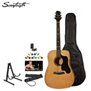 Sawtooth ST-ADN-KIT-3 Acoustic Guitar with Black Pickguard-Includes Accessories, Gig Bag and Online Lesson: Amazon.ca: Musical Instruments, Stage & Studio