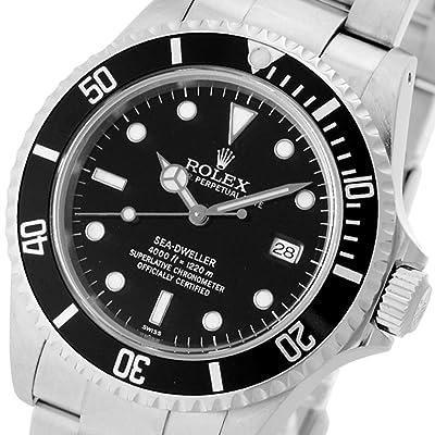ROLEX 腕時計 シードゥエラー 16600 A番 SS ブラック メンズ 自動巻き [中古品] [並行輸入品]