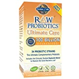 Garden of Life - RAW Probiotics Ultimate Care - Acidophilus and Bifidobacteria Live Culture Probiotic - Gluten, Soy, and GMO-Free - 30 Vegetarian Capsules (Shipped Cold) (Tamaño: 30)