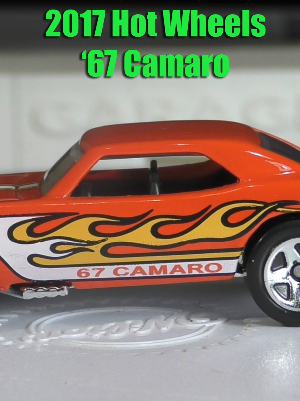 Review: 2017 Hot Wheels '67 Camaro on Amazon Prime Instant Video UK