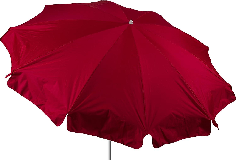 beo Sonnenschirme wasserabweisender, rund, Durchmesser 240 cm, rot jetzt kaufen
