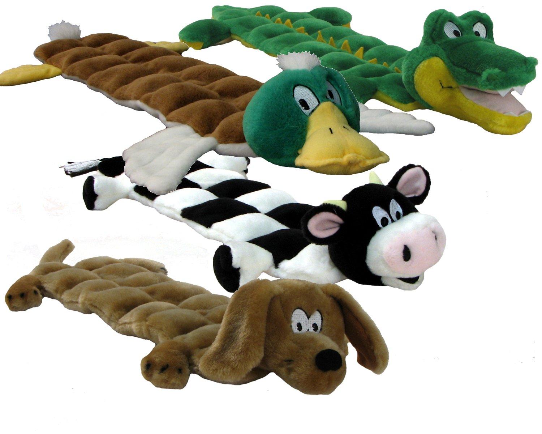 Kyjen Pp02233 Squeaker Mat Gator 16 Squeaker Plush Squeak