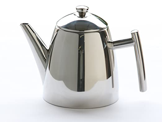 Frieling 18/10 Stainless Steel Primo Teapot with Infuser, 34-ounce