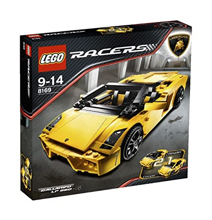LEGO - 8169 - Jeu de construction - Racers - Lamborghini Gallardo LP560-4