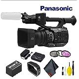 Panasonic AG-UX90 4K/HD Professional Camcorder Basic Bundle (Color: Basic Bundle)